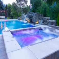 Color-Changing Hot Tub Spa Lights