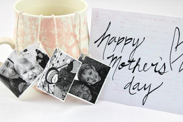 DIY Personalized Tea Bags for Mother's Day