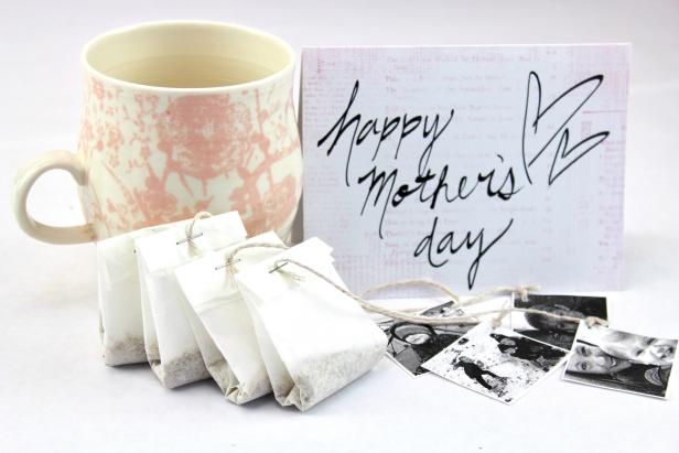 Make Personalized Tea Bags for Mom