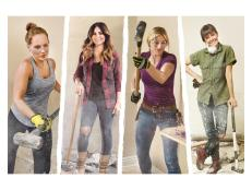 Four of HGTV's brightest stars square off in the latest home renovation showdown, 'Rock the Block.'