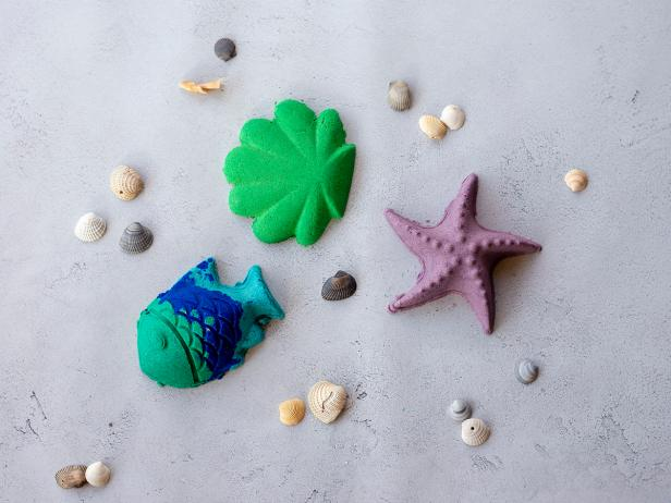 Moldable Sand Shapes