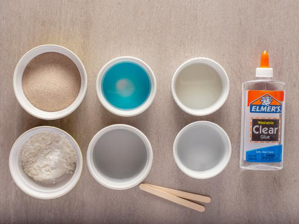 DIY Moldable Sand: Materials