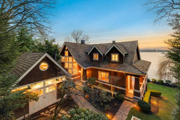 Craftsman Home on Lake Washington With Views of Seattle Skyline | 2019  HGTV's Ultimate House Hunt | HGTV
