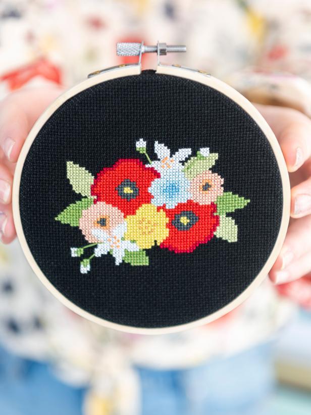 Free Cross Stitch Pattern: Measure Once, Cut Twice | HGTV