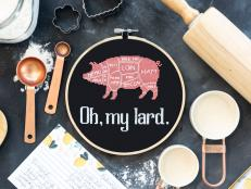 Funny Kitchen Cross Stitch Pattern