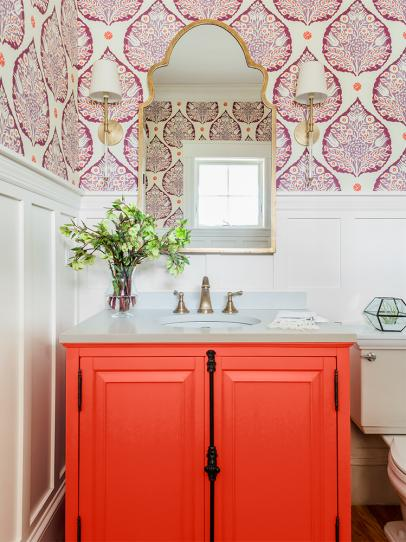 Warm Paint Shade Ideas We Love: Red, Pink, Orange, Yellow and More