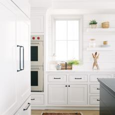 Classic Black-And-White Kitchen