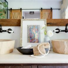 Bathroom Countertop With Bowl