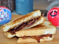 PB & Bacon Sandwich at Target Field, Home of the Minnesota Twins