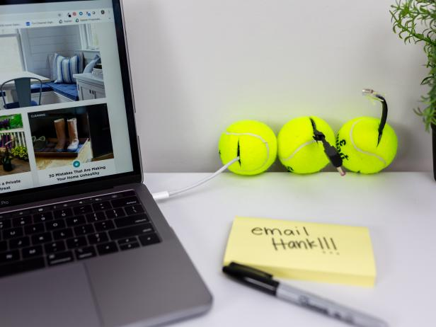 Tennis Ball Cord Organizer