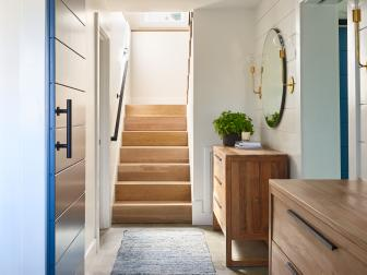 Hallway and Stair Is Wide and Bright