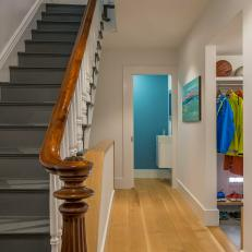 Modern Stairs And Hallway