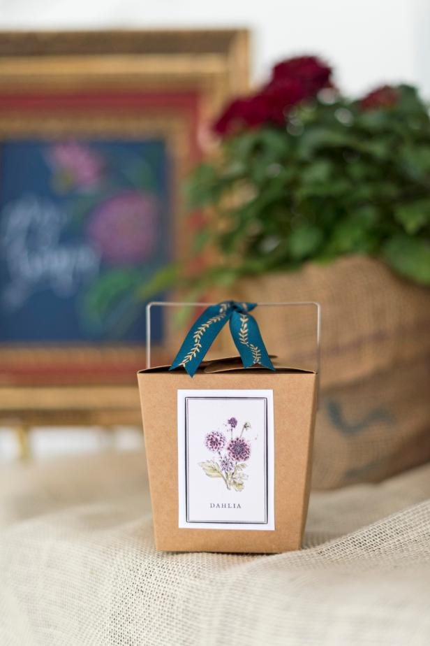DIY Flower-tastic Party Favors