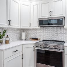 White Kitchen With Rolling Pin