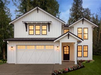 Clopay's Coachman Collection Garage Doors - Painted Carriage Style Garage Doors