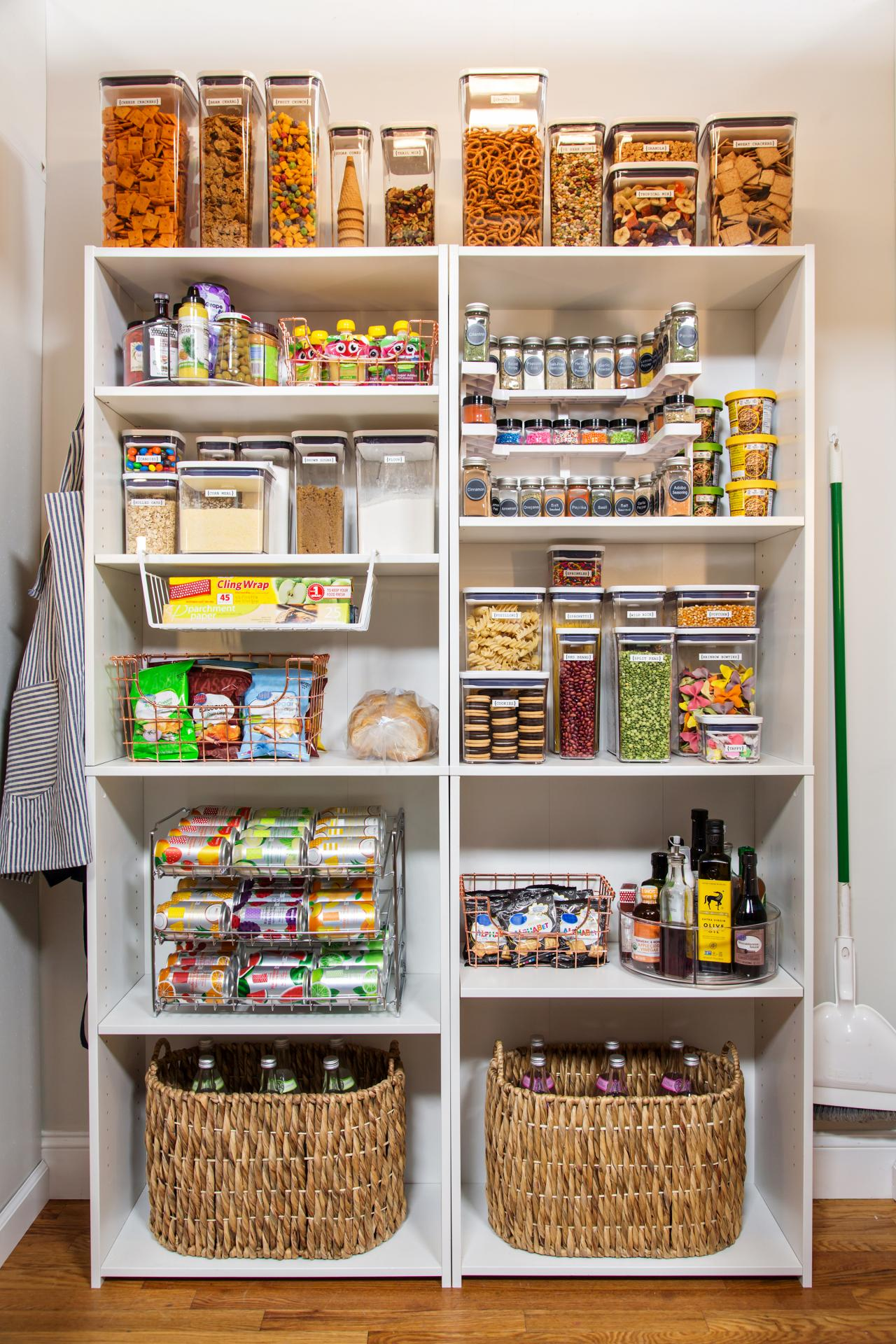Best Products and Tips for an Organized Pantry | HGTV
