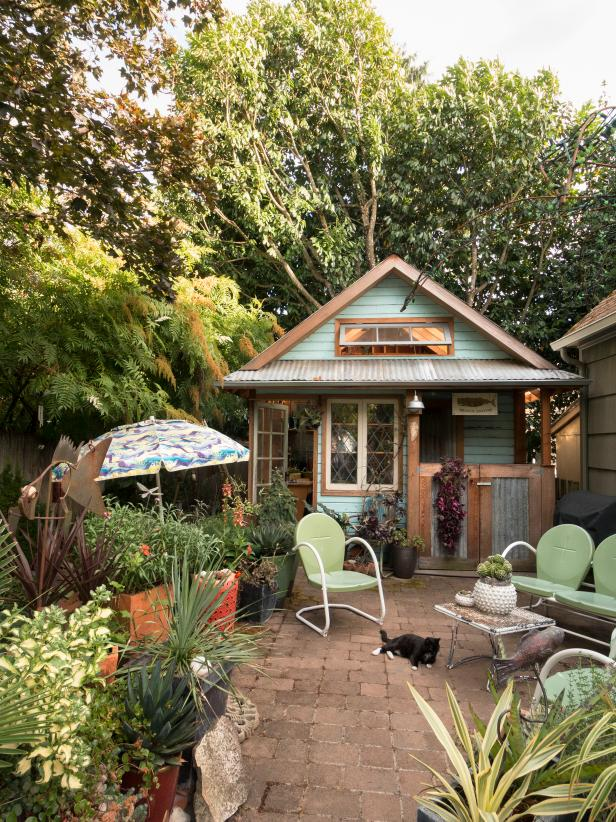 20 Great Garden Shed Ideas Garden Sheds And Potting Benches You Ll Want In Your Backyard Hgtv