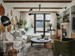 Living Rooms With Rustic Flair