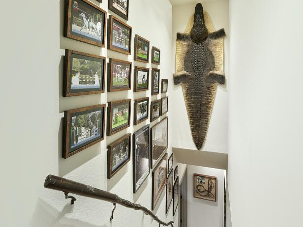 Stairwell Features Photos and Alligator Skin