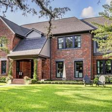 Historic Houston Tudor Revival Basks in Modern Glory