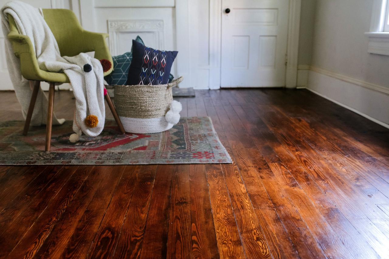 How To Refinish Hardwood Floors Diy Home Improvement Hgtv,Dog Licking Paws Red