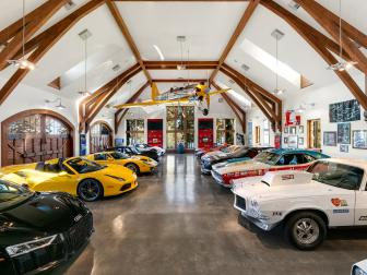Antique Collector Garage for Two Dozen Vehicles