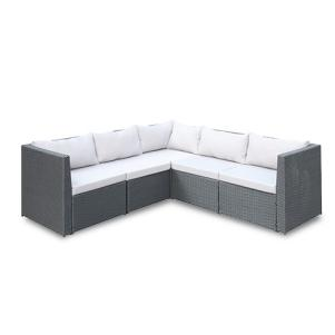 Aldrich Grey 5-Piece Sectional