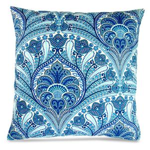 Blue Beach Riptide Throw Pillows