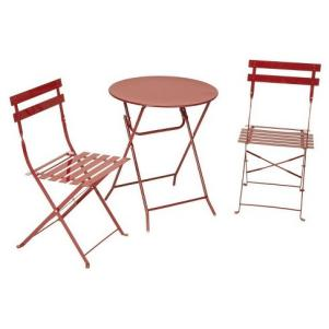 Metal Patio Folding Bistro Set