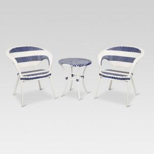 Wicker Patio French Bistro Set