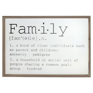 Family Wall Decor Sign