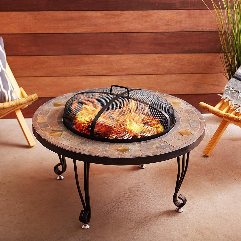10 Best Fire Pits on Amazon 2019 - HGTV.com   HGTV on Best Fire Pit Design id=96937