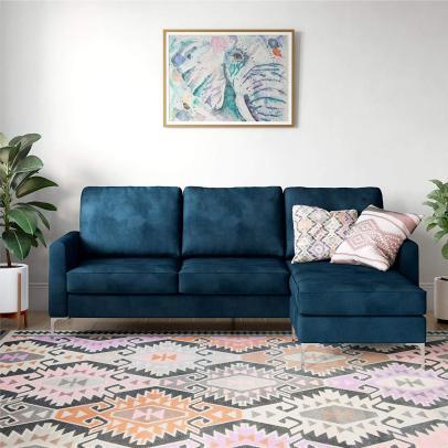 Peachy 11 Apartment Sized Sofas For Every Style Hgtv Spiritservingveterans Wood Chair Design Ideas Spiritservingveteransorg