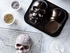 Craft the creepiest (and most delicious!) Halloween treats with these themed bakeware tools, from cake pans to candy molds.