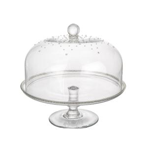 Glass Dome Cake Stand by ClassicTouch