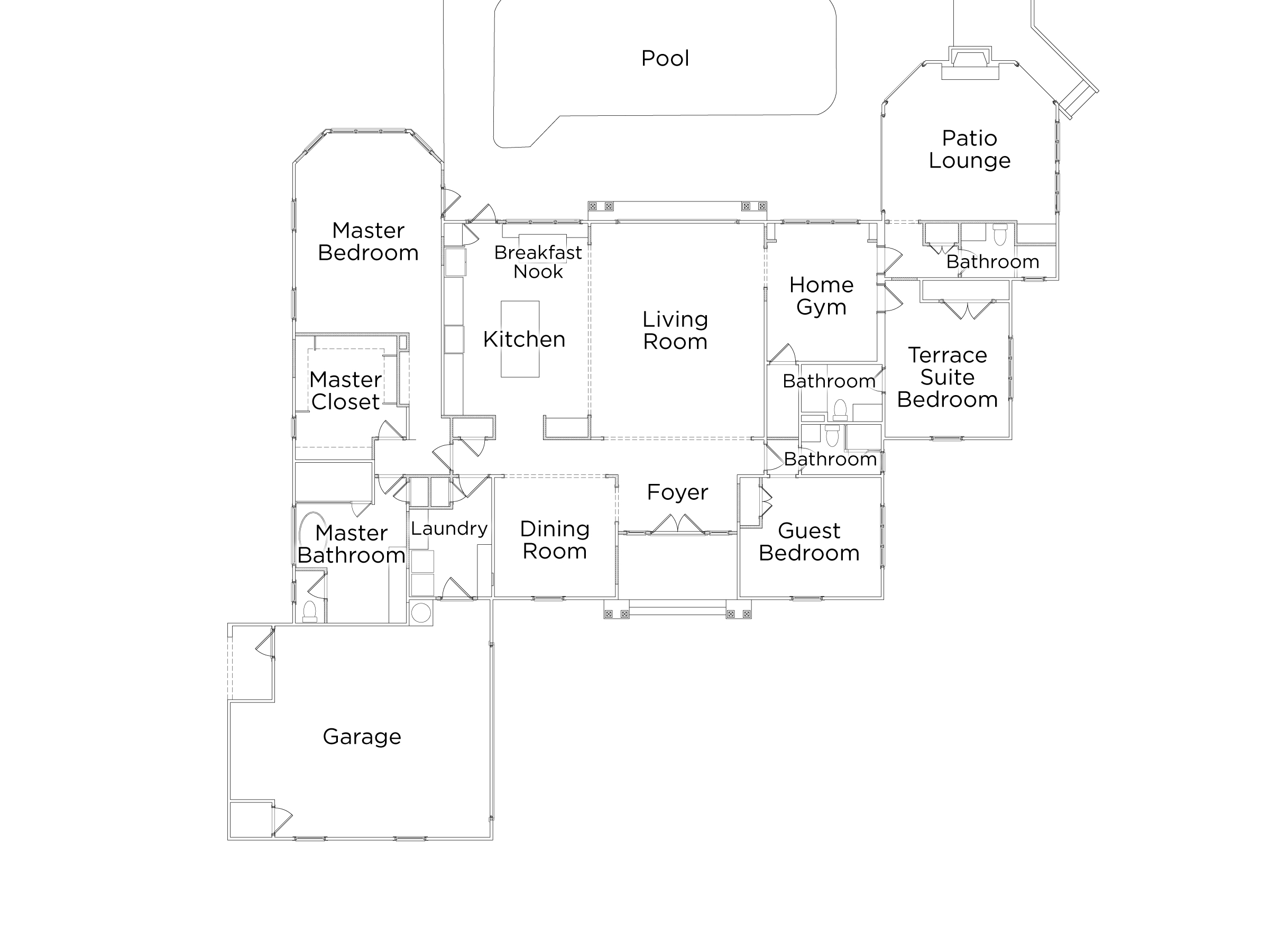 Discover The Floor Plan For HGTV Dream Home 2017