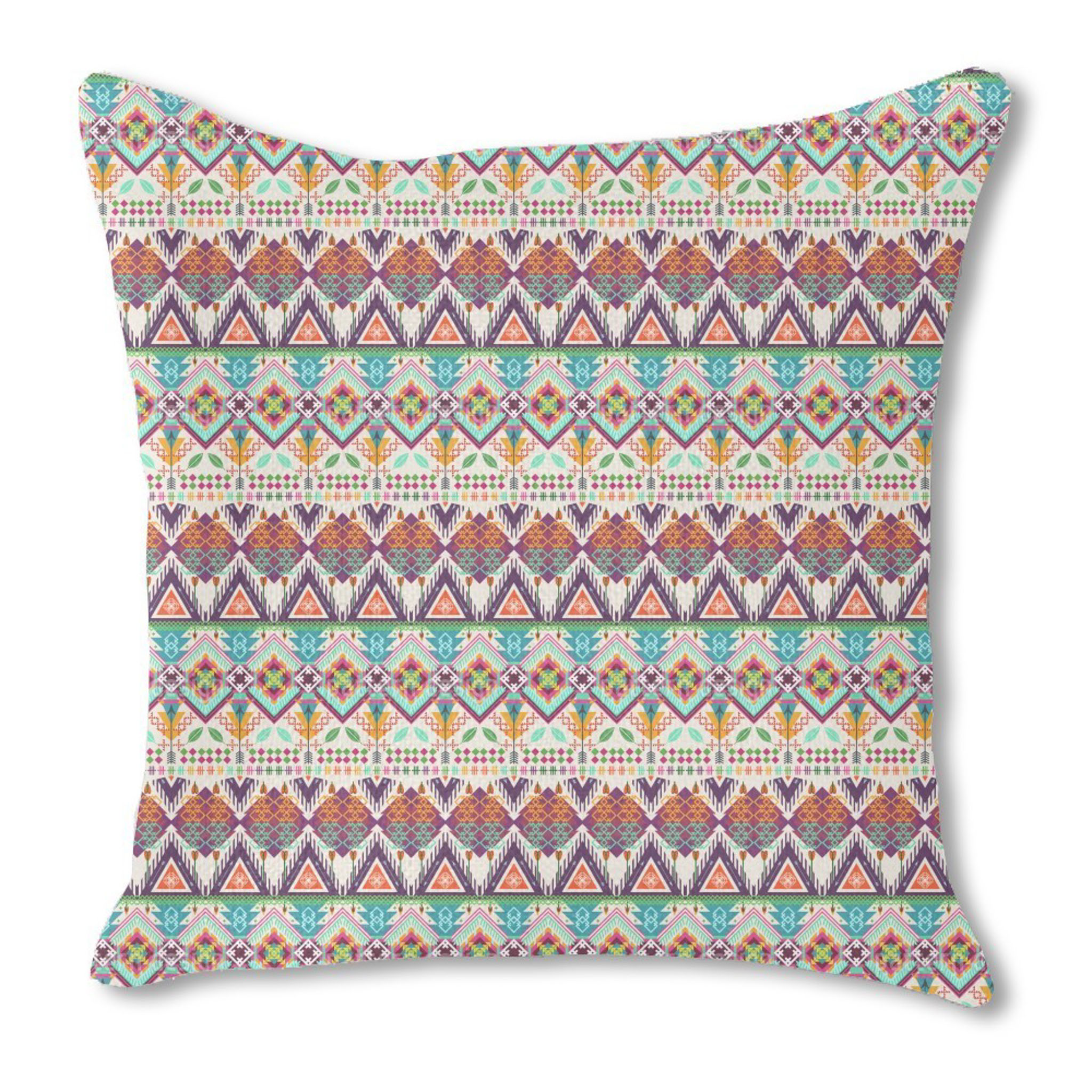 Aztec Double-sided Pillow