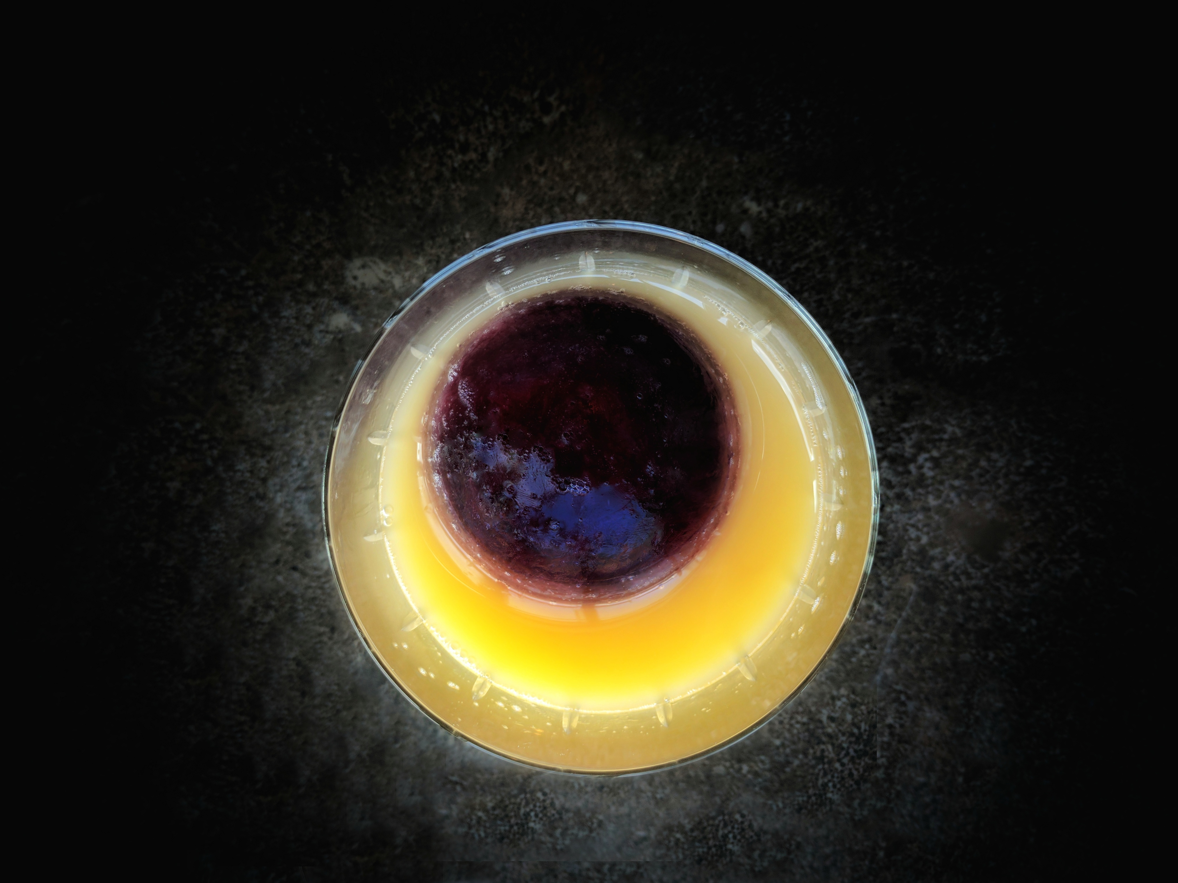 Replicate the stunning visuals of the upcoming solar eclipse with these two cocktail recipes.