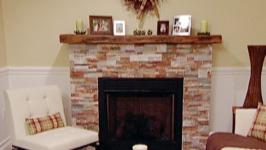 Awesome How To Build A Cultured Stone Fireplace Surround Video Hgtv Beutiful Home Inspiration Truamahrainfo