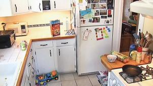 Cramped Kitchen Gets Wider
