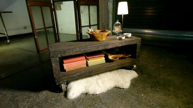 Industrial diy furniture Long Console Table 1411696001536jpeg Hgtvcom Diy Furniture Projects Rustic Industrial Pieces Hgtv