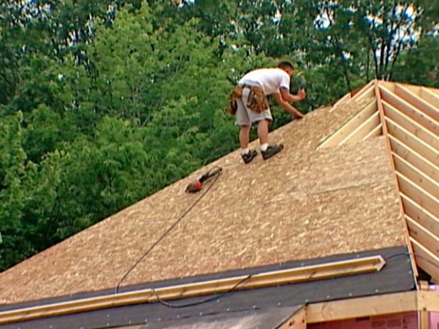 Roof Sheathing Installation Video Hgtv
