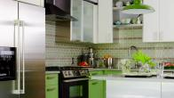 Tiny Kitchen Goes Big on Color