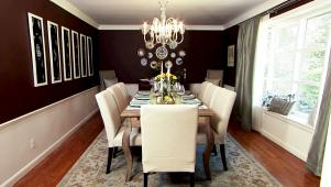 Decadent Dining Room Makeover