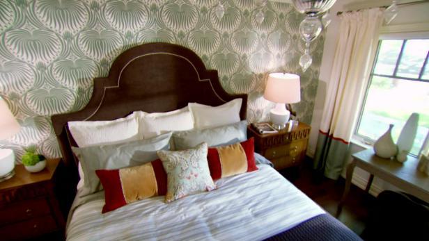 Stylish And Unique Headboard Ideas DIY - Design on a dime ideas bedroom