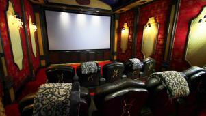 Million-Dollar Home Theater