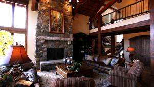 Ultimate Basement Hangout in Colorado Ski Lodge