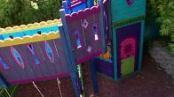 Colorful Playhouse for Girls