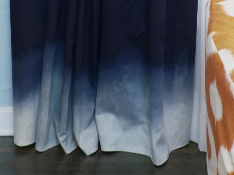 How to Make Ombre Draperies