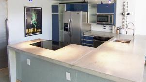 Stylish Concrete Countertops